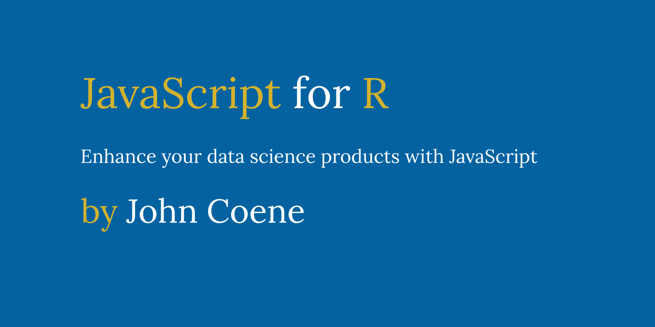 JavaScript for R